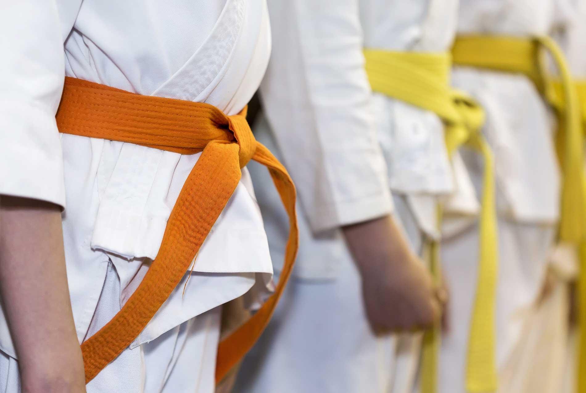 Ceintures-karate